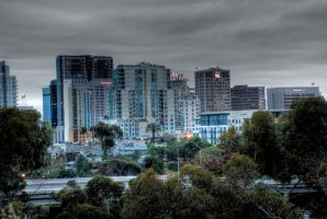 Stormy San Diego - HDR by JoeBostonPhotography