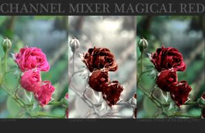 MAGICAL RED CHANNEL MIXER by illusionality