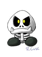 dry bones goomba by rongs1234