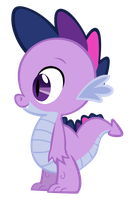Twilight Spike vector by Durpy