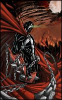 Spawn - color by Giuseppe-Cafaro