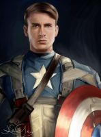 Captain America by katielwitt