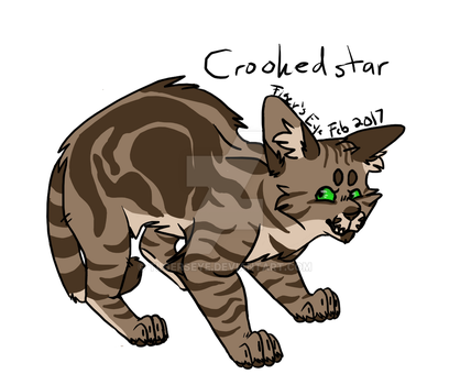 Day 7 of Warrior Cat Challenge: Crookedstar by Tigerpool