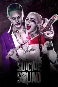 Suicide Squad - Joker and Harley Quinn by jhonaphone