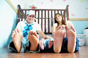Barefoot Tickle by SublimeBudd