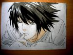 L -  Death note by Hlqb