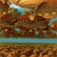 Merry go round in the sky I by Mandelbulb-inthesky