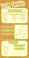 Chubby Chibi Tutorial by k-o-j-i