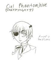 First Attempt at Ciel Phantomhive by Artistic-Resonance