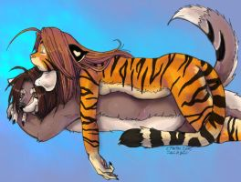 Luffalump Tigress + Outlaw by konekonoarashi