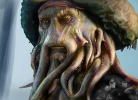 Davy Jones by Dahamon