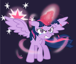 Alicorn Twilight by MangaKa-Girl