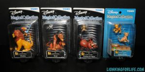 Lion King Tomy Magical Collection Set by LionKingForLife