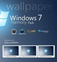 Windows 7 Harmony Pack by CaHilART