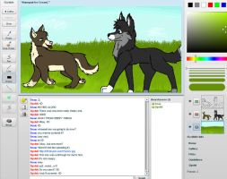 Iscribble with Sea. by Flanngo