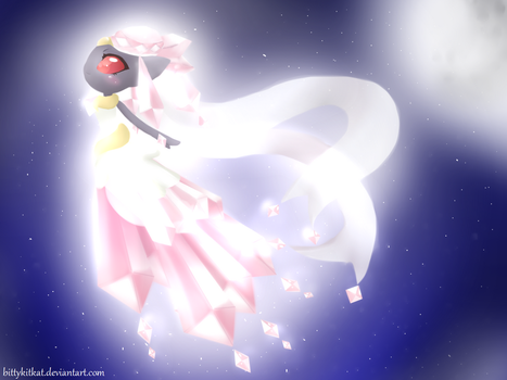 Mega Diancie by BittyKitKat