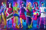 Equestria Girls - Rainbow Rocks by Ryoko-demon
