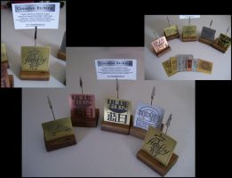 Firefly Name Card Holders by creativeetching