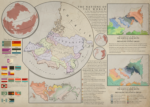 The Nations of The World by zurgetron