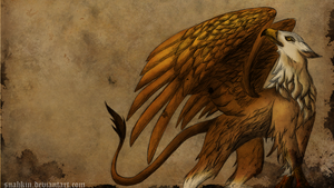 Gryphon wallpaper by Suahkin