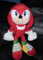 Sonic Adventure Knuckles Plush by DarkGamer2011