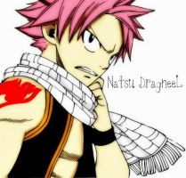 Natsu DragneeL by akeen123