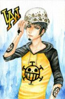 Trafalgar Law by Hachiyo