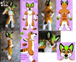 From Concept Art, to Fursuit by AlexDachshund