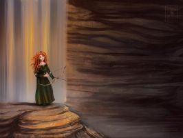 Merida Fan Art Brave by Seppyo