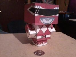 Red Ranger CubeeCraft by SuperVegeta71290