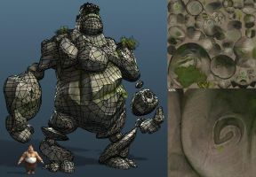 Settlers 7 Stonegolem Wire by polyphobia3d