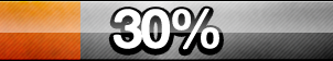 30% Progress Button by ButtonsMaker