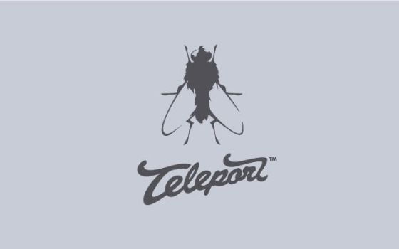 Teleport - Logo by Neverdone