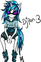 Dj-pon3 by su-i-cide-kid