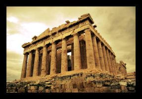 Forgotten Wonder: Parthenon by Perlekes