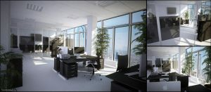 Office -Conference Room- by 3DPORTFOLIO