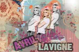 avril lavigne wallpaper 2 by 00cheily00