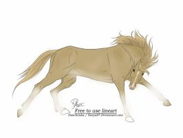 Wild Horse Adoptable 1 by Julia-adopts
