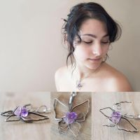 Amethyst Butterfly by MirielDesign