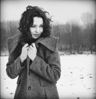 cold winter bw by NataliaCiobanu