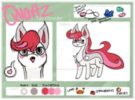 Quartz the Finnedyr Ref Sheet by EmersonWolfe