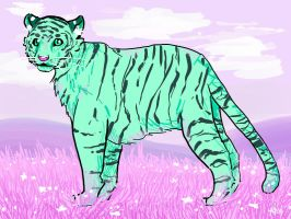 Mint the Tiger Contest Entry by PrismSky