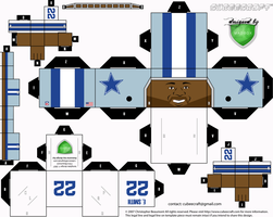 Emmitt Smith Cubee by 1madhatter