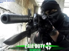 Call of Duty Ghosts .....Cosplay Art by SPARTANalexandra