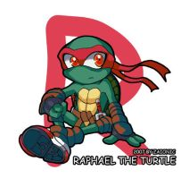 Raphael the Turtle by zaionic
