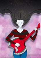 Marceline: The Vampire Queen by bloody-savage