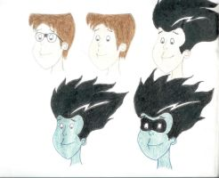 Freakazoid Face Comparison by Anna-McNarin