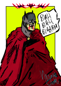 Batman is Dracula! by GOLDmouseTRAP