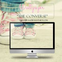 Wallpaper ''The Converse'' by Creatiivaa