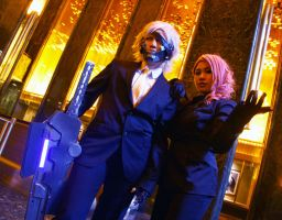OO7 Raiden and Mistral by Cosplay4FunUltimate
